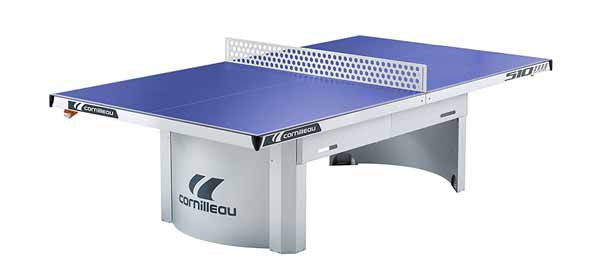 Cornilleau 510M Outdoor Stationary Blue Table