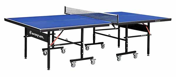 Harvil I, Indoor Table with Playback Feature and Locking Wheels