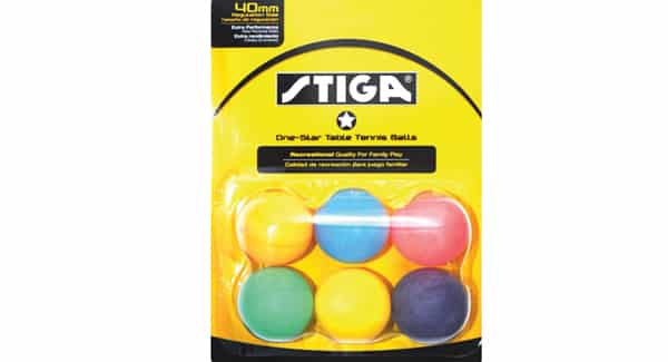 STIGA 1-Star Multicolor ball